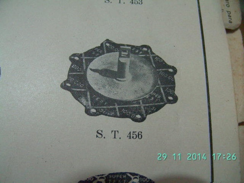 mercury 1949/1951-diafragma bomba vacuo