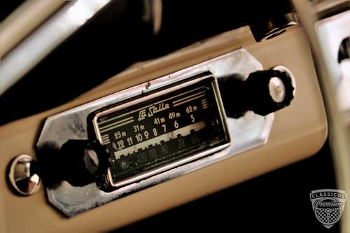 mercury 1957 57 - raríssimo - original - placa preta