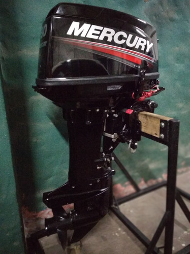 mercury 30 hp 2t super año 2016 impecable solo 15 hs de uso