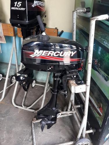 mercury 3.3 hp 0 hs nautica garrido / la brujula motores.