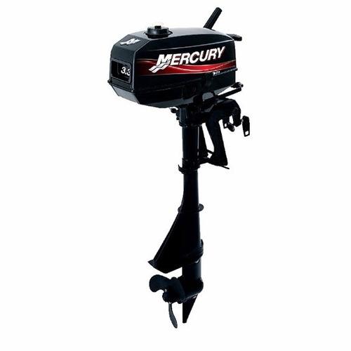 mercury 3.3 hp 2 tempos 0km ideal para peq. emb. ou caiaque