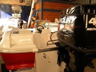 mercury 40 hp 3 cilindros electrico super  dolar oficial