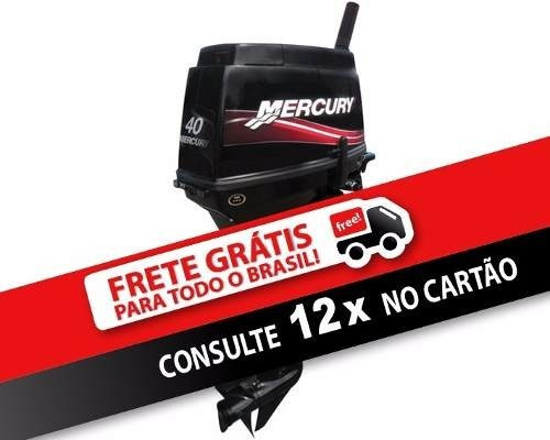 mercury 40 hp 3 cilindros electrico super precio