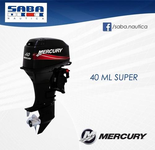mercury 40 ml 4 tiempos / el mejor precio / envío sin cargo