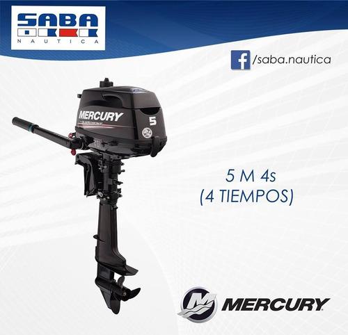 mercury 5 m hp 4 t / mejor precio del mercado / envio s/c