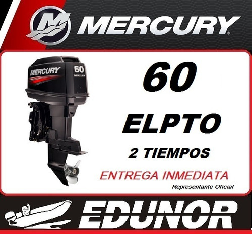 mercury 60 elpto 2t - edunor