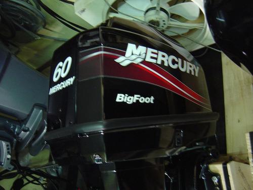 mercury 60 hp big foot 0hs. 2018 *** permutas ***