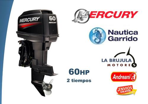 mercury 60 hp elpto - nautica garrido - la brujula motores