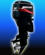 mercury 90 hp elpto 0hs. 2020