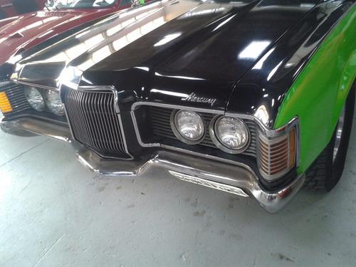 mercury cougar - 1971 - aut. v 8 - verde / preto