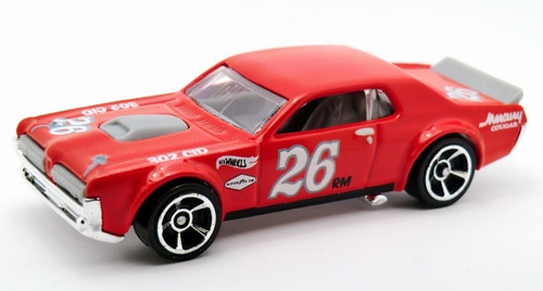 mercury cougar escala coleccion hot wheels b108