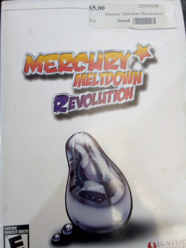 mercury meltdown revolution/ nintendo wii & wii u original