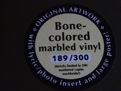 mercyful fate time lp bone colored selado pronta entrega +