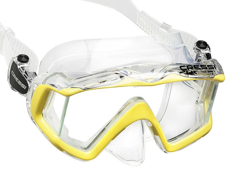 f624f129d Carregando zoom... máscara de mergulho silicone visão panorâmica 3 cressi  top!