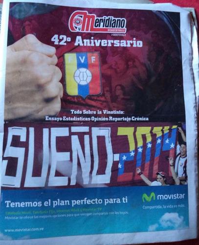 meridiano edición 42 aniversario 2011 + dvd cth