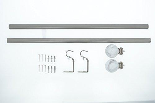 meriville - cortina para tratamiento de una sola ventana co
