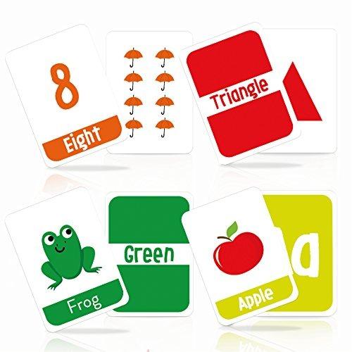Merka Alfabeto Para Ninos Colores, Formas Y Numeros Tarjetas ...