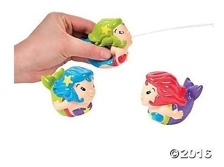 mermaid squirt toys - 12 piezas de party supplies