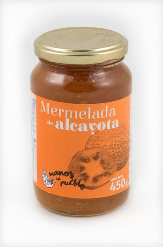 mermelada de alcayota. dulce de alcayota 450 grs alma nativa