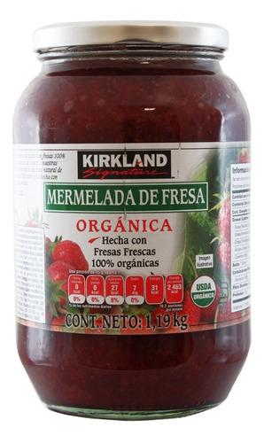 mermelada de fresa orgánica kirkland signature de 1.19kg