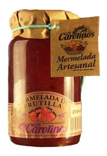 mermelada de frutilla x 484 pack 3 uni - los carolinos