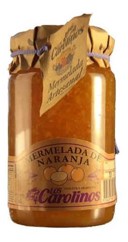 mermelada de naranja x 484 pack 3 uni - los carolinos