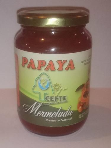 mermelada de papaya cefte