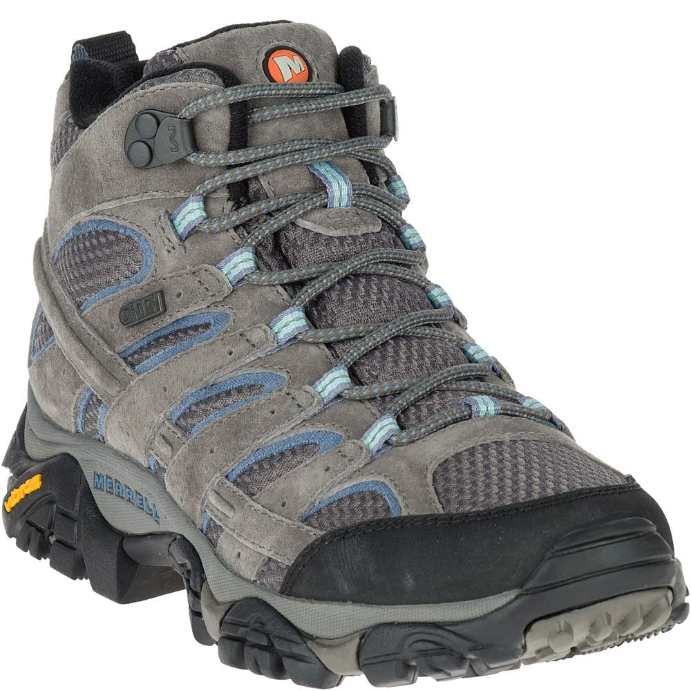 merrell moab mid waterproof hiking boots