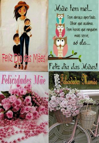 mães cartões dia das mães c/50 unid. +50 env. - modelo 01