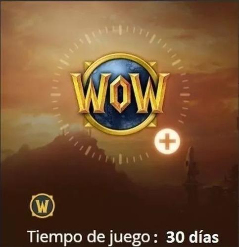 mes de wow/ficha