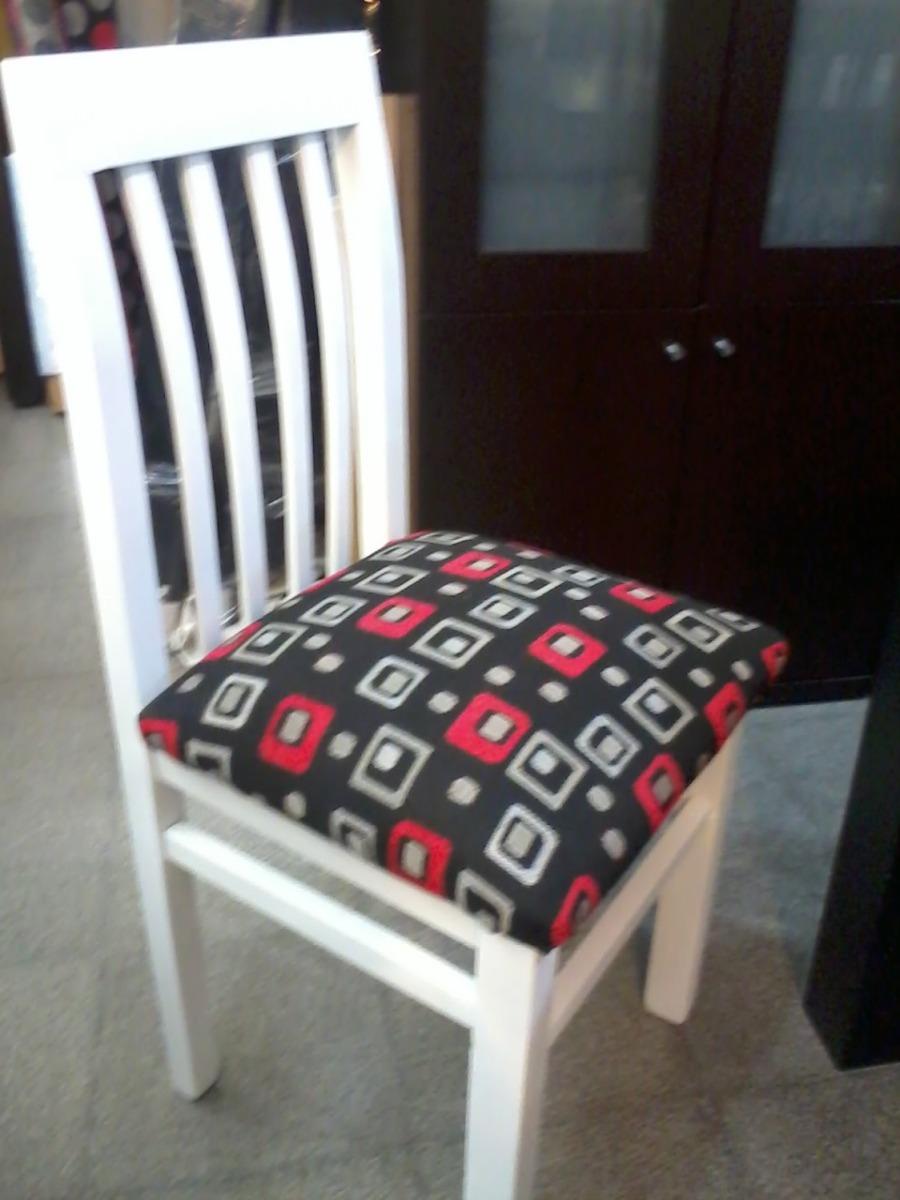 mesa mas sillas blancas o wengue negro