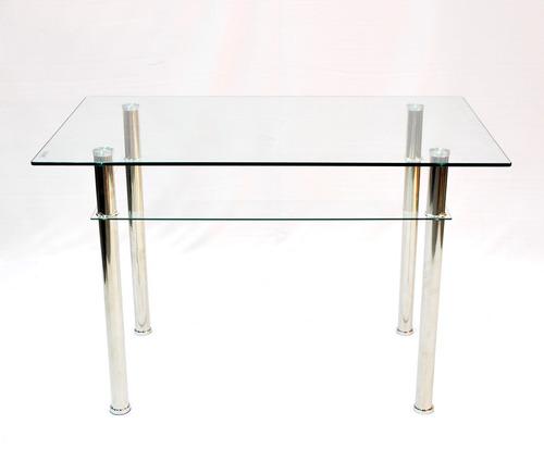 mesa 1,20 x 0,70 vidrio templado 10mm