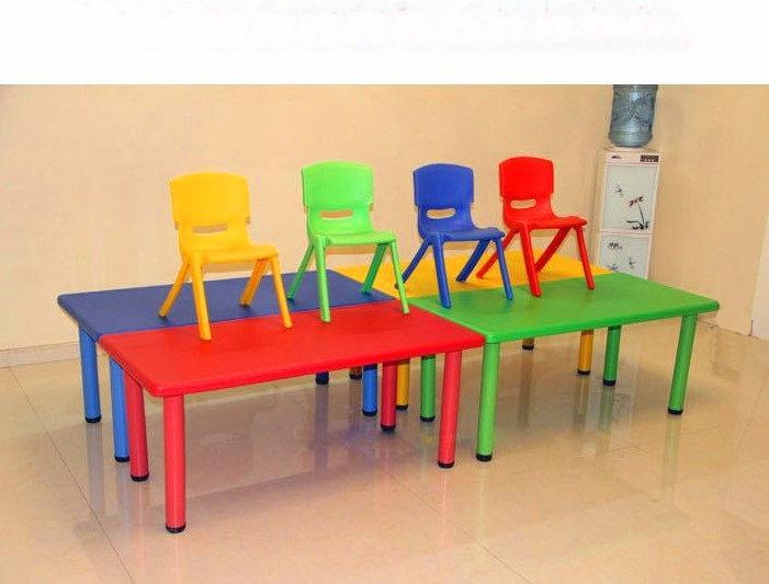 Mesa 120 x 60 infantil escolar ni os polipropileno - Mesas para ninos de plastico ...