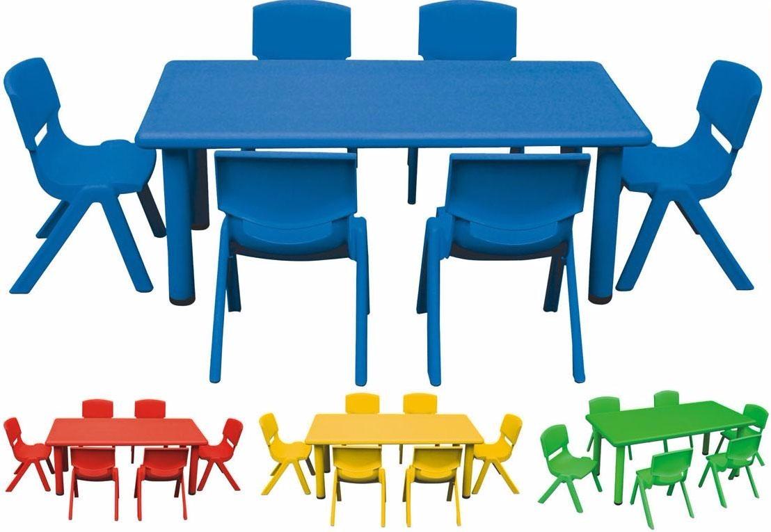 Mesa 120 x 60 infantil escolar ni os polipropileno - Mesas infantiles de plastico ...