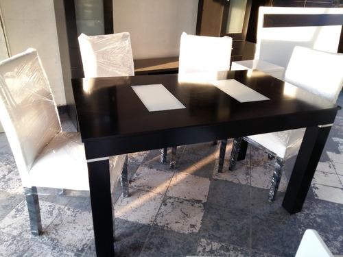 mesa 1.40 wengue,guatambu comedor oferta de fabrica!!!