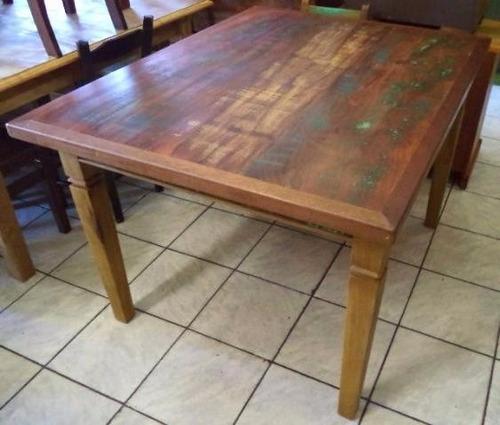 mesa 1,60 x 0,90 madeira demolição-frete grátis sudeste