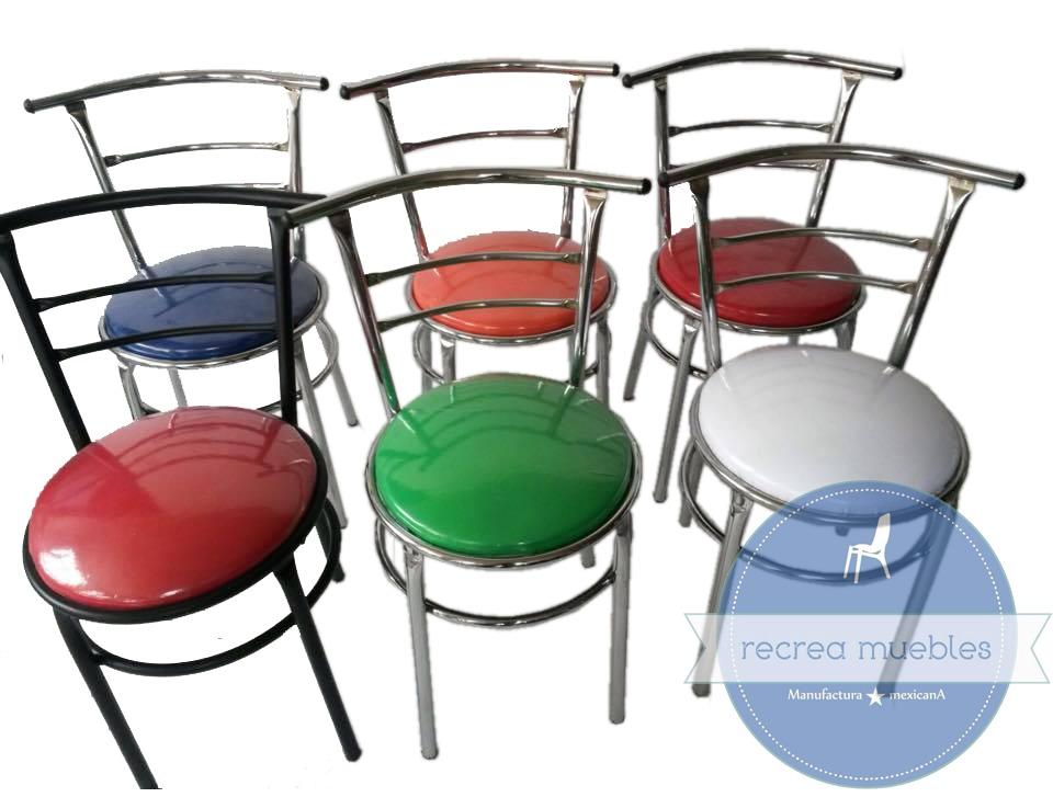 Mesa 4 sillas para restaurante bar cafeteria antro cocina - Sillas para cafeterias ...
