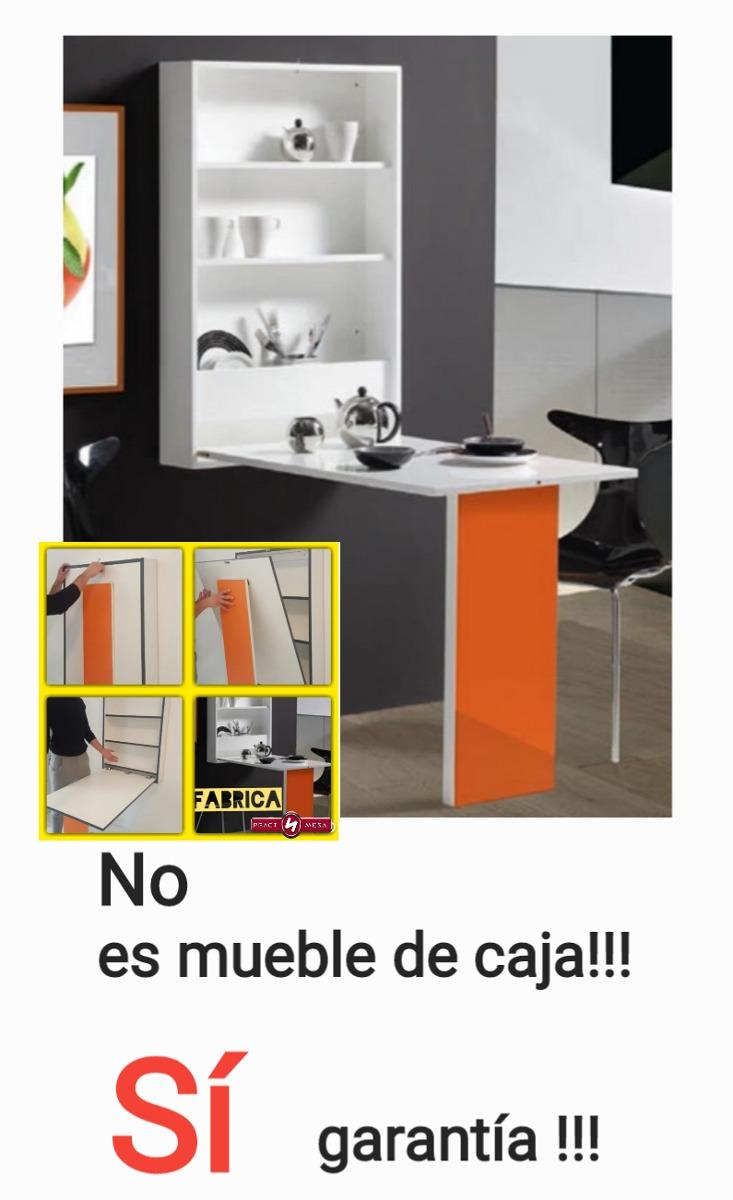 Mesa Abatible Alacena Auxiliar Plegable Barra De Cocina - $ 3.998,99 ...