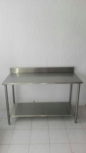mesa acero inoxidable