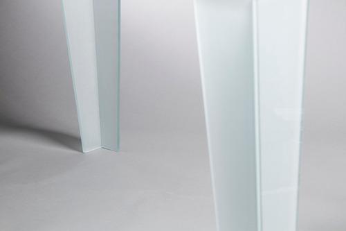 mesa alta de vidrio 10mm! moderna y minimalista