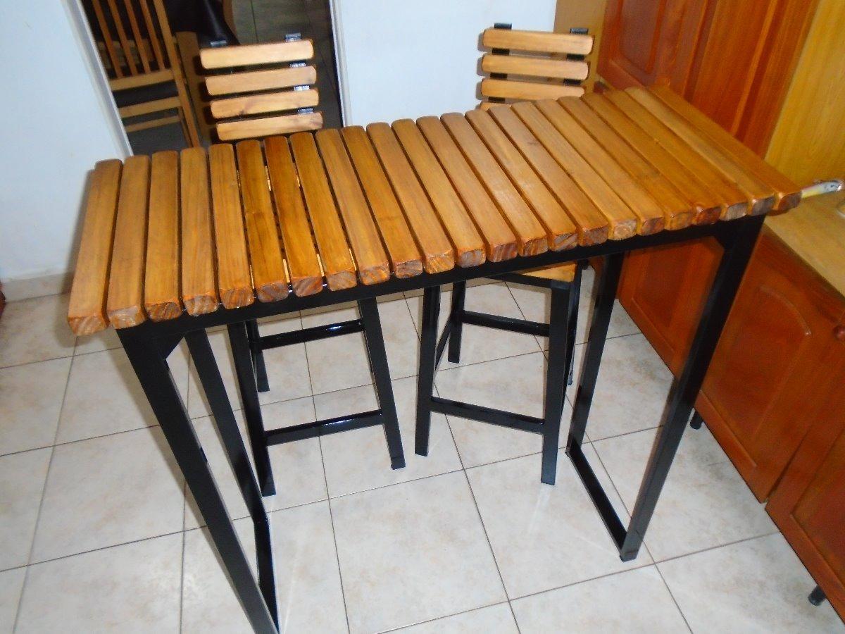 Mesa Alta Desayunadora - $ 2.050,00 en Mercado Libre