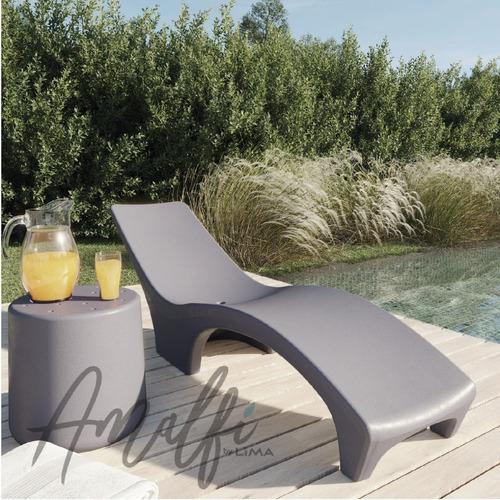 mesa amalfi 40x40 cm diseño moderno apta exterior interior