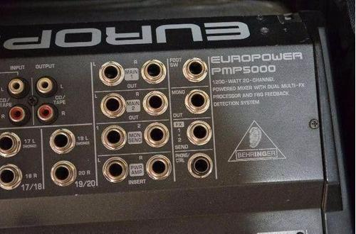 mesa amplificada behringer pmp 5000