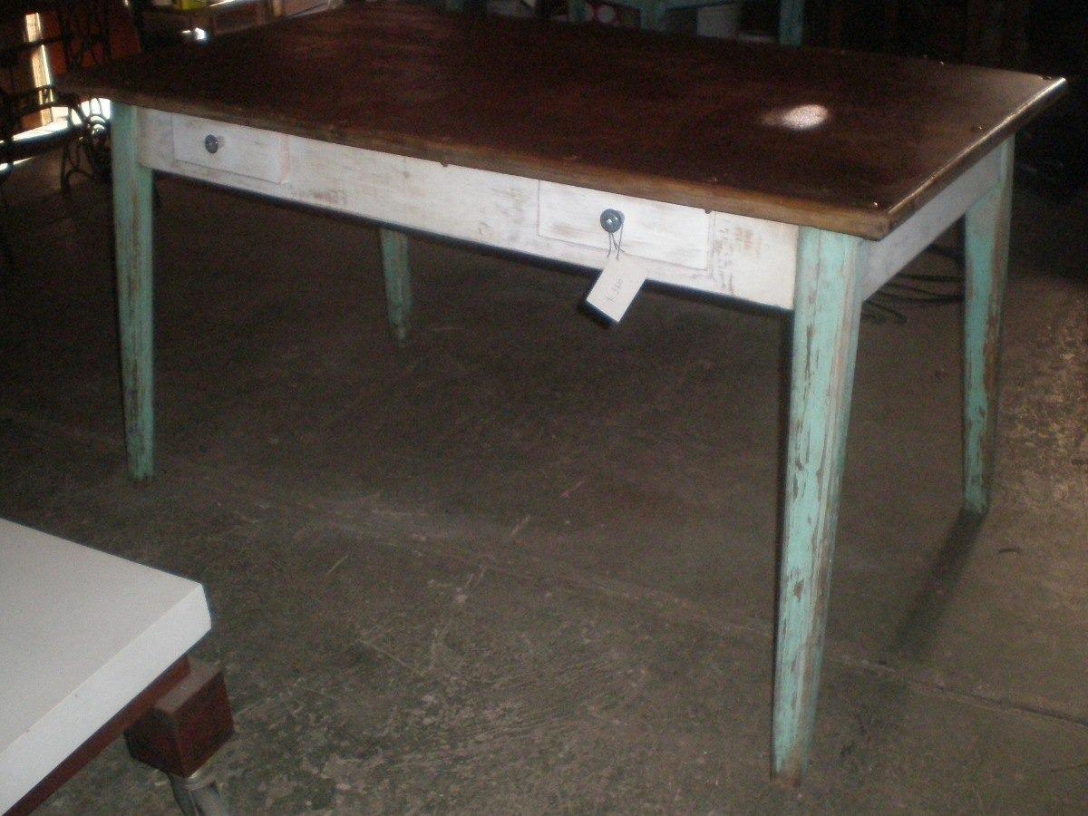 Mesa Antigua De Cocina Comedor - $ 7.900,00 en Mercado Libre