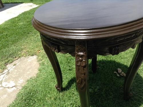 mesa antigua de madera