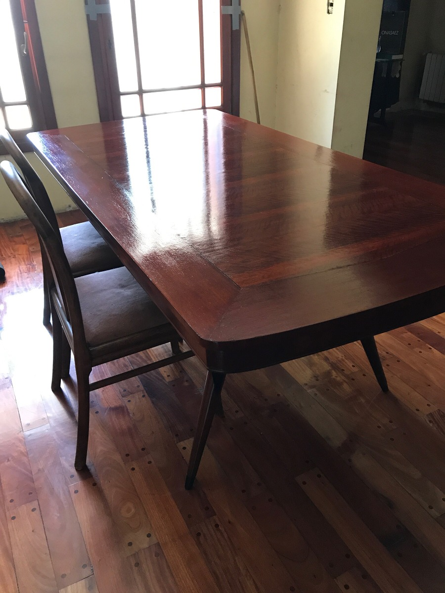 Mesa Antigua Restaurada , Mesa Para Comedor - $ 18.000,00