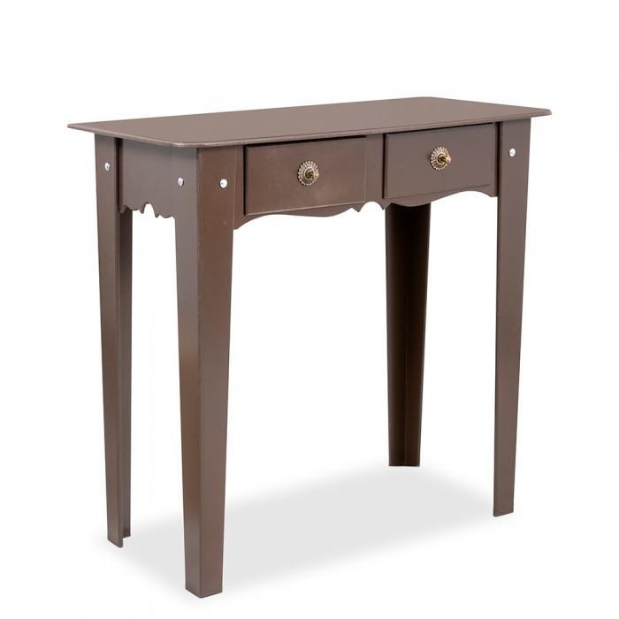 Aparador Gris Ikea ~ Mesa Aparador Reto 2 Gavetas Mdf Diversas Cores R$ 252,00 em Mercado Livre