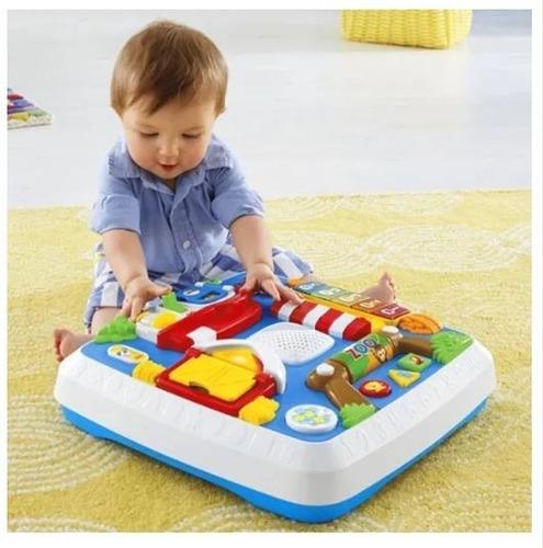 mesa aprende conmigo fisher price juguete aprendizaje pp