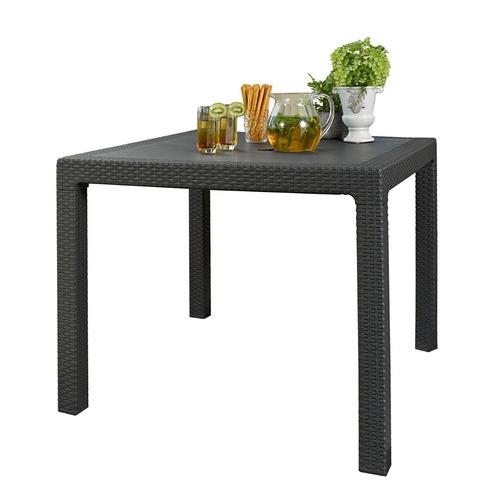 mesa armable de lujo tipo rattan terraza jardín envío gratis