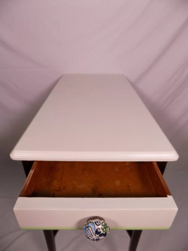 mesa arrime vintage francesa barnizada o inglesa mirala